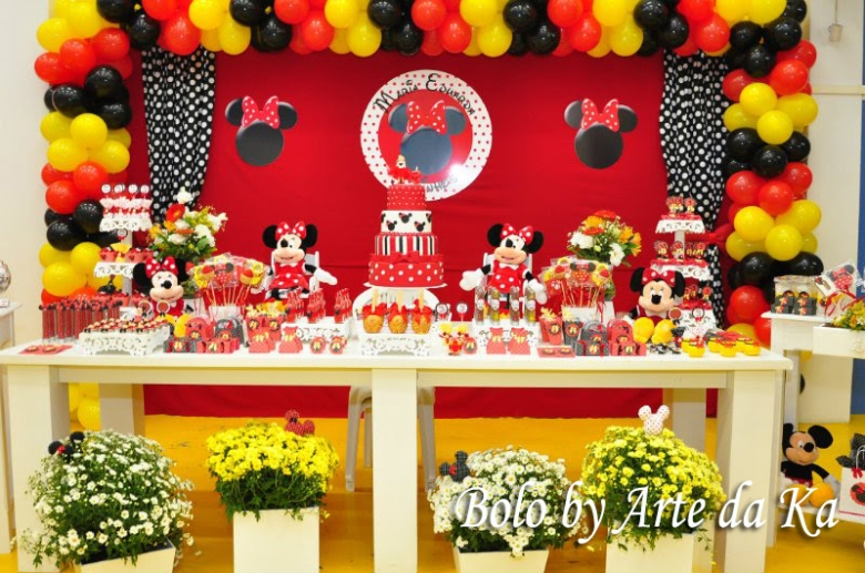 Topo De Bolo Do Mickey E Da Minnie  Car Interior Design